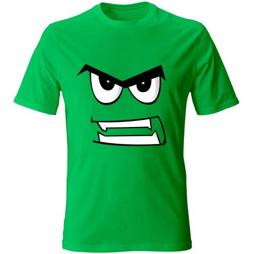 Maglia-bambino-angryface-kiwigreen