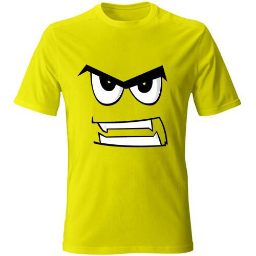 Maglia-bambino-angryface-giallo