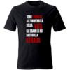 maglietta università della vita nero