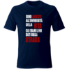 maglietta università della vita navy